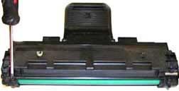 технология заправки картриджа Samsung ML 1640, 1641 MLT-D108S инструкция